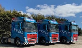 3 New Volvos join the fleet............